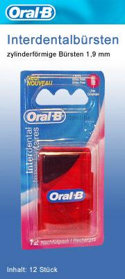 Oral B Interdentalbürste, sehr fein. Zahnzwischenraumbürste für enge Zahnzwischenräume